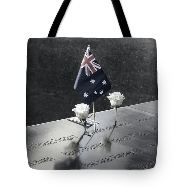911 Memorial Pool-5 Tote Bag