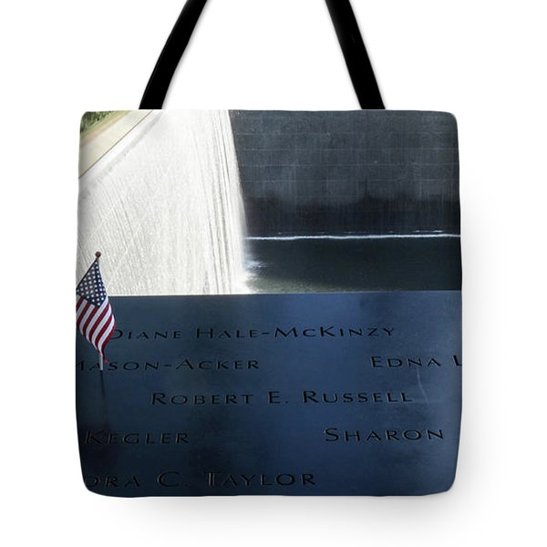 911 Memorial Pool-6 Tote Bag