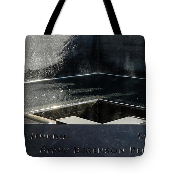911 Memorial Pool-8 Tote Bag