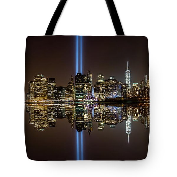 911 Reflection Tote Bag