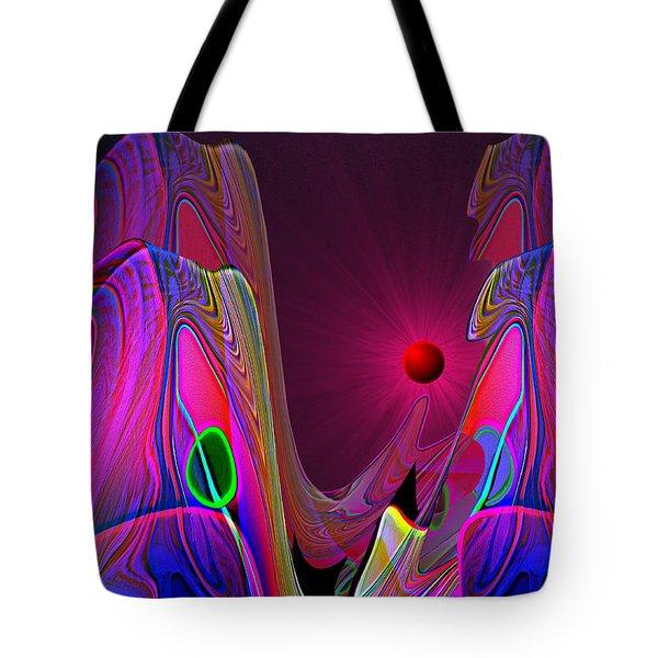 918 Evening Glow 2017 V Tote Bag