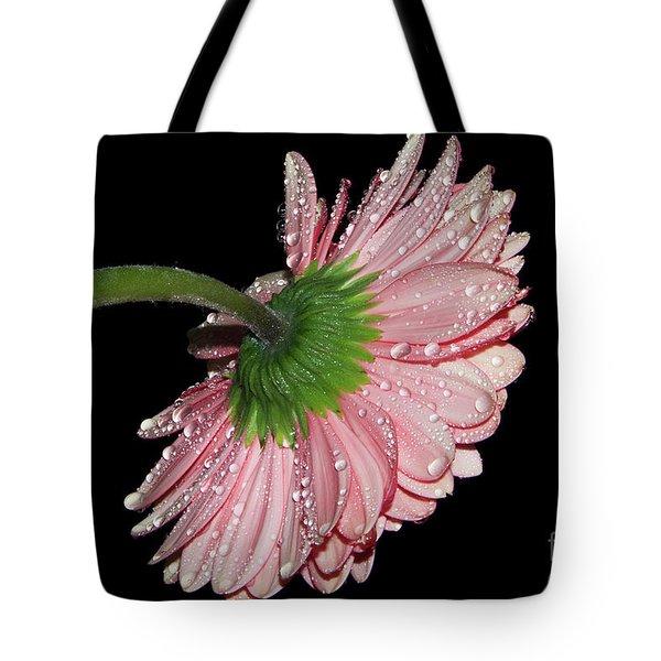 Pink Gerber Tote Bag
