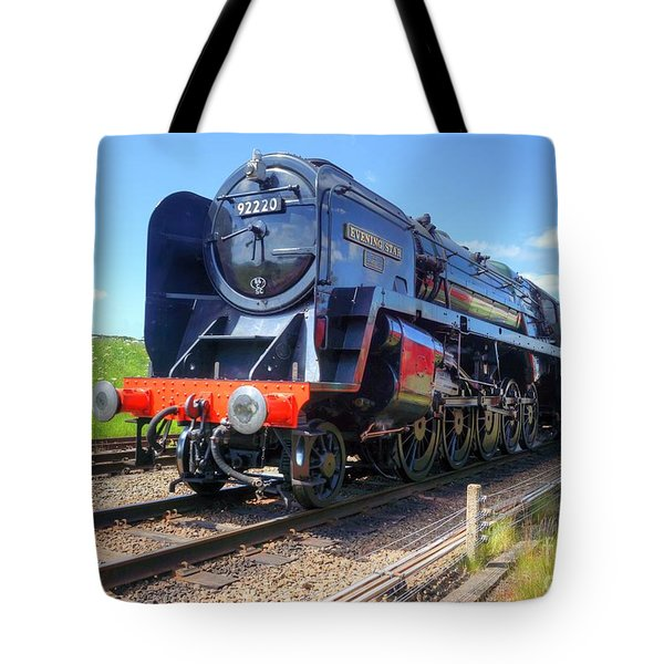 Tote Bag featuring the photograph 92220 Evening Star by David Birchall