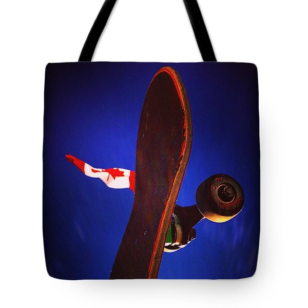 Canadian Skater Tote Bag