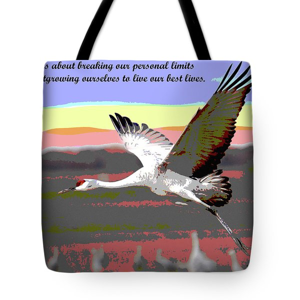 Motivational Quotes Tote Bag