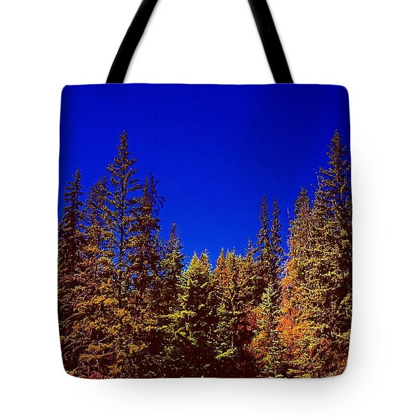 Beyond The Big Green Forest Tote Bag