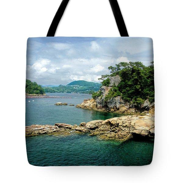 99 Islands Sasebo Japan Tote Bag