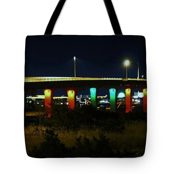 9th Street Bridge Tote Bag