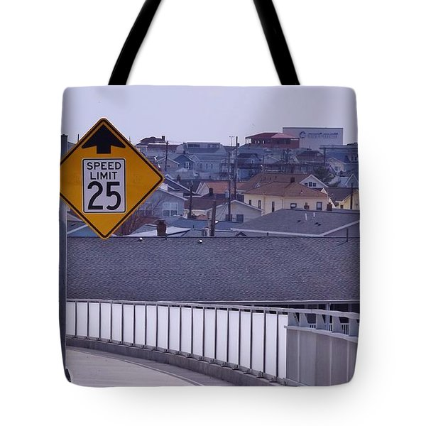 9th Street In Tote Bag