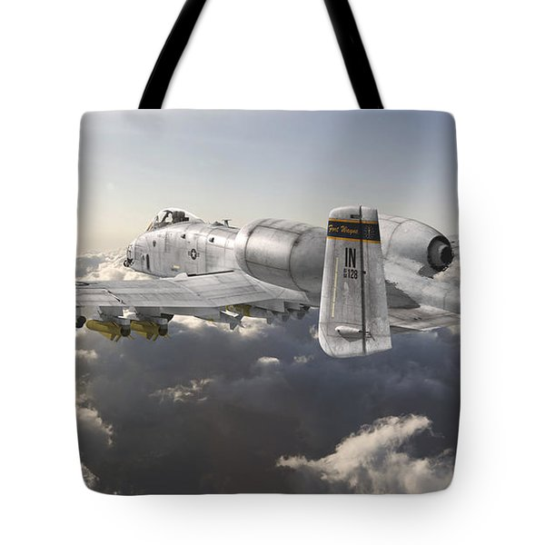 A-10 Thunderbolt II Tote Bag by David Collins