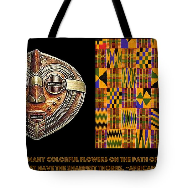 A  African Proverb Tote Bag