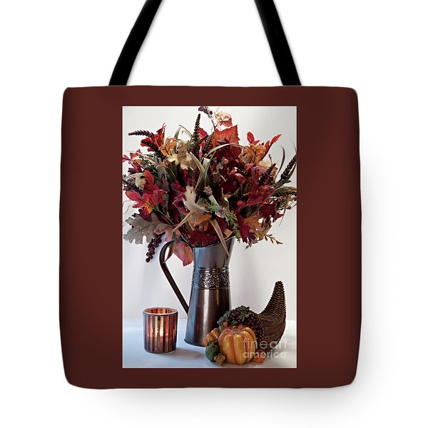 A Autumn Day Tote Bag by Sherry Hallemeier