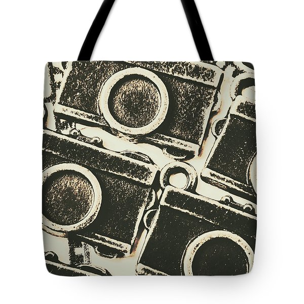 A Background In Photography Tote Bag