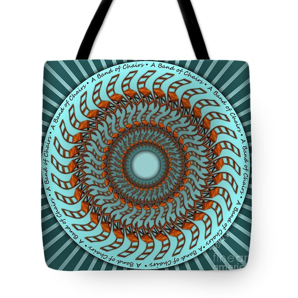 A Band Of Chairs Tote Bag