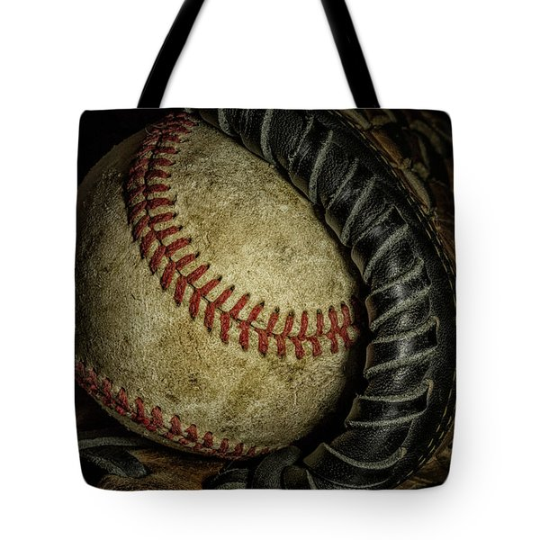 A Baseball Still Life Tote Bag