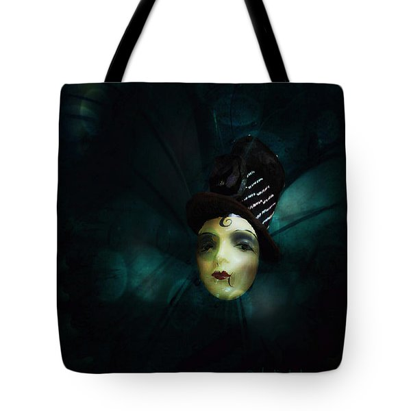 Tote Bag featuring the digital art A Basement Apartment by Delight Worthyn
