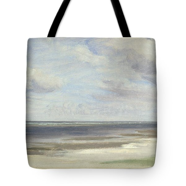 A Beach On The Baltic Sea At Laboe Tote Bag