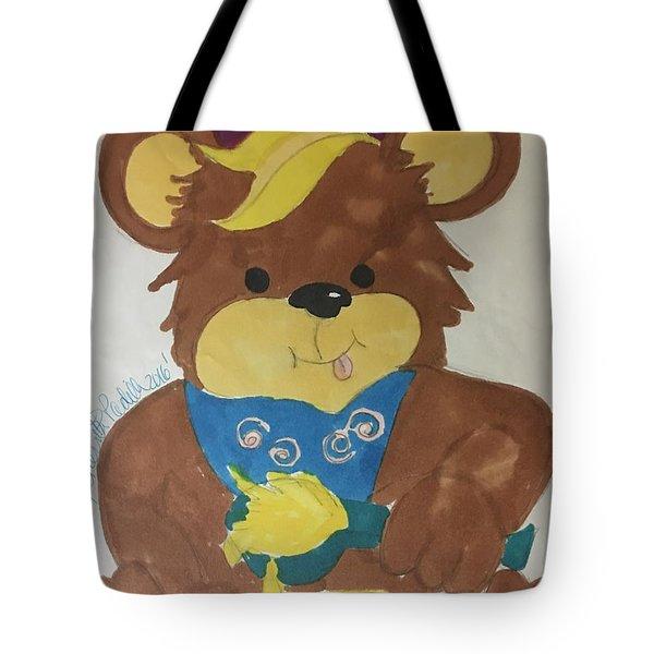 A Bear Loves Honey Tote Bag