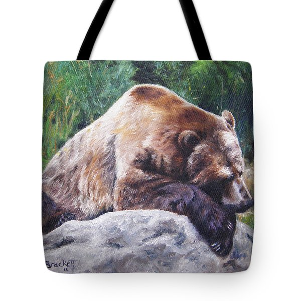 A Bear Of A Prayer Tote Bag