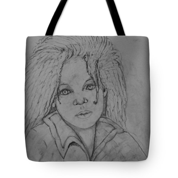 Wistful, The Drawing. Tote Bag