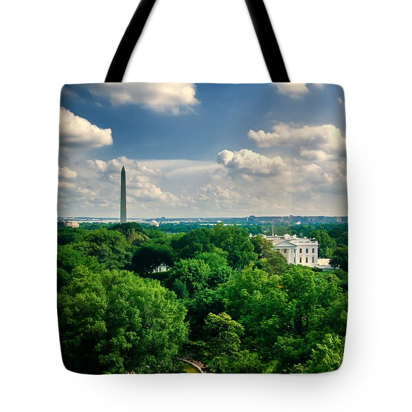 A Beautiful Day In Dc Tote Bag by Jim Moore