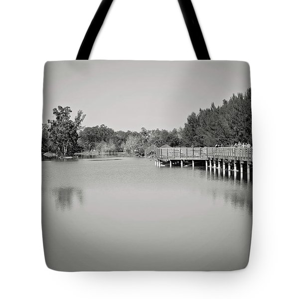 Tote Bag featuring the photograph A Beautiful Day by Kim Hojnacki