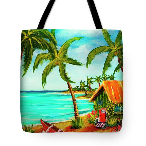 A Beautiful Day  Oahu #357 Tote Bag by Donald k Hall