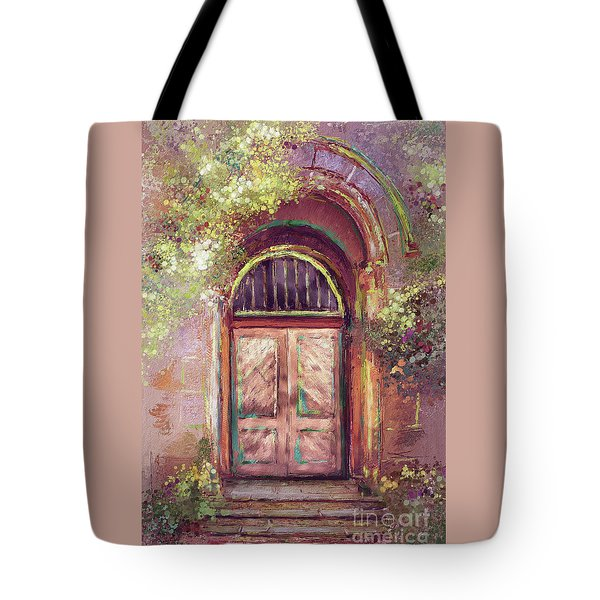 A Beautiful Mystery Tote Bag by Lois Bryan