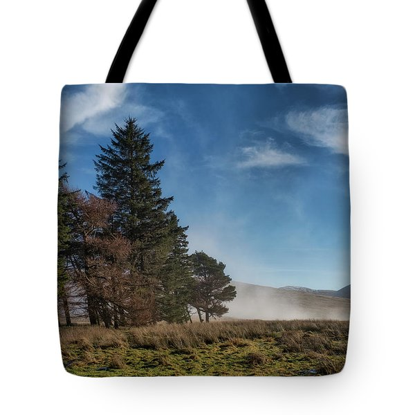 Tote Bag featuring the photograph A Beautiful Scottish Morning by Jeremy Lavender Photography