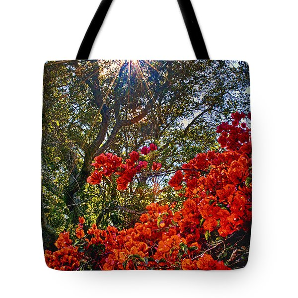 Tote Bag featuring the photograph A Bed Of Red 2 by Joseph Hollingsworth