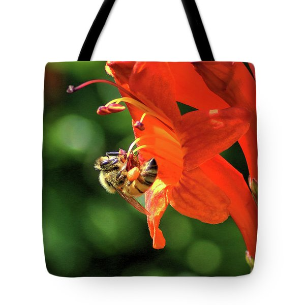 A Bee's Life Tote Bag by Richard Stephen