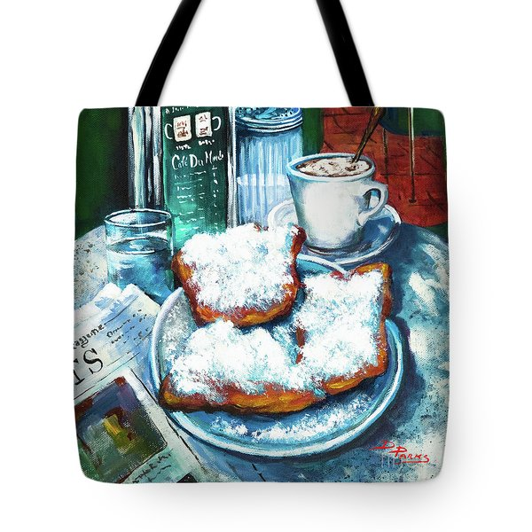 A Beignet Morning Tote Bag