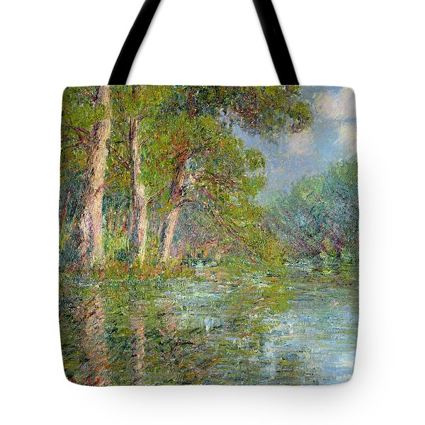 A Bend In The Eure Tote Bag by Gustave Loiseau