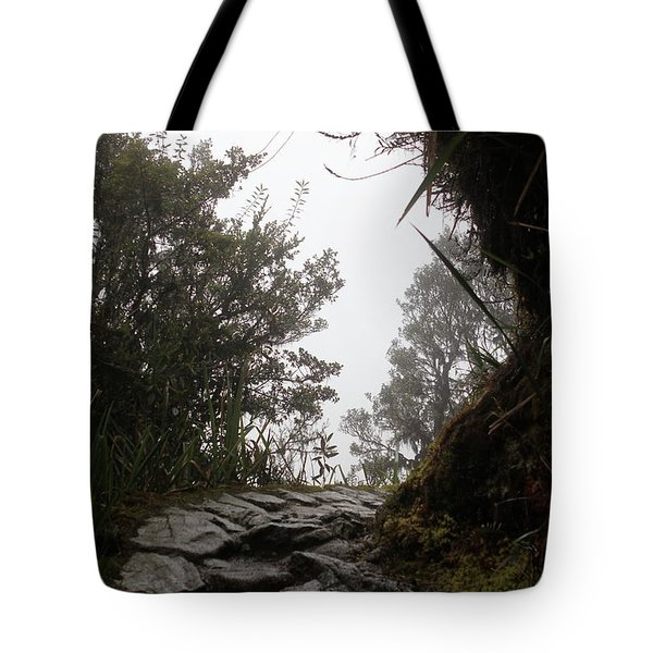 A Bend In The Path Tote Bag
