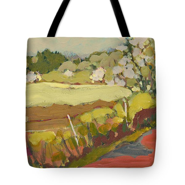 A Bend In The Road Tote Bag