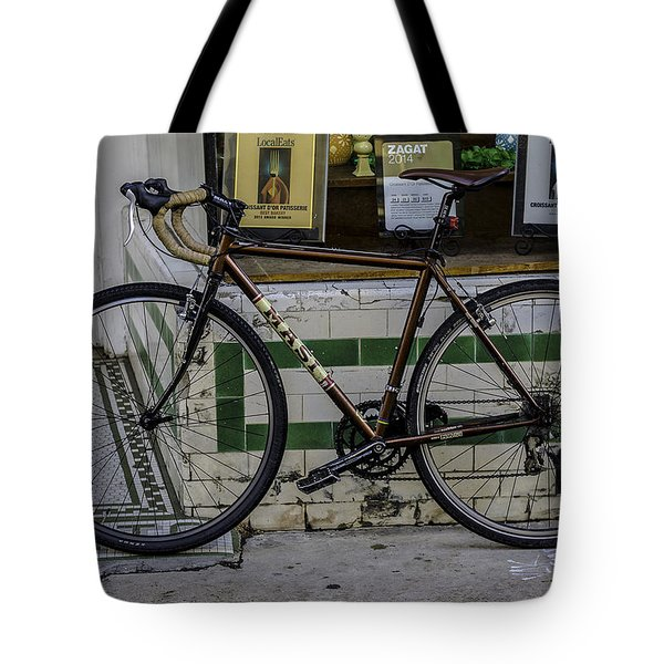 A Bicycle In The French Quarter, New Orleans, Louisiana Tote Bag