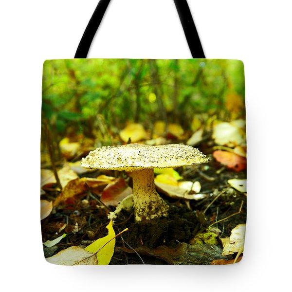 A Big Mushroom Tote Bag