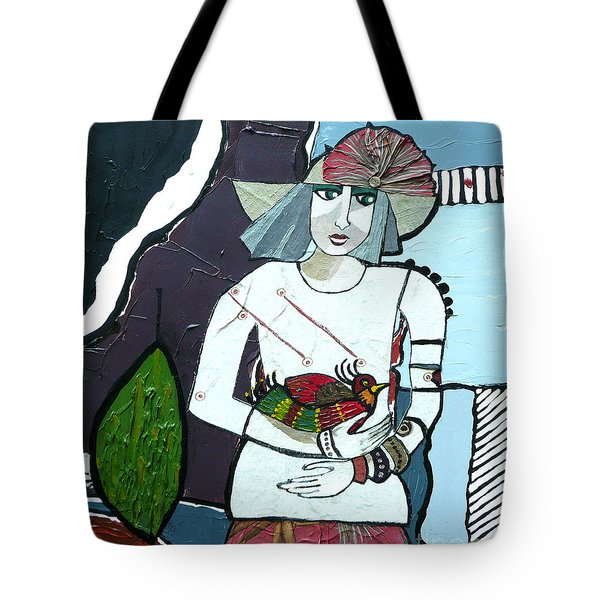 A Bird In Hand Tote Bag