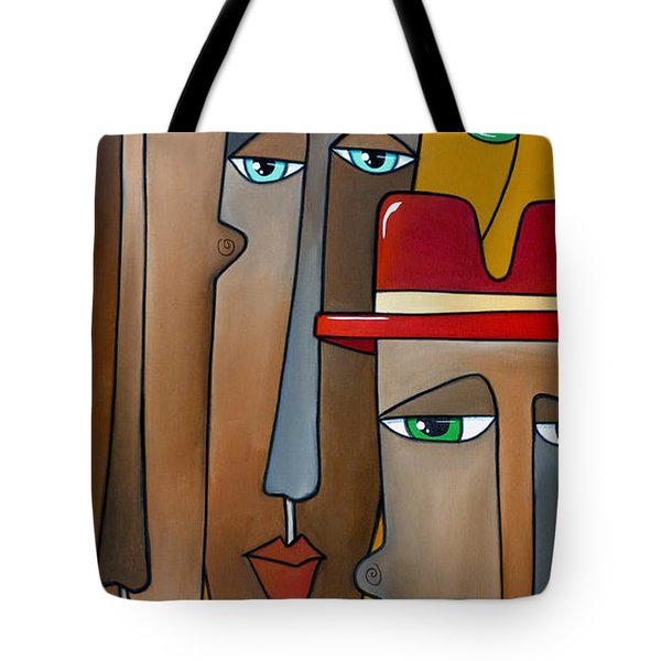 A Bird On The Head Tote Bag