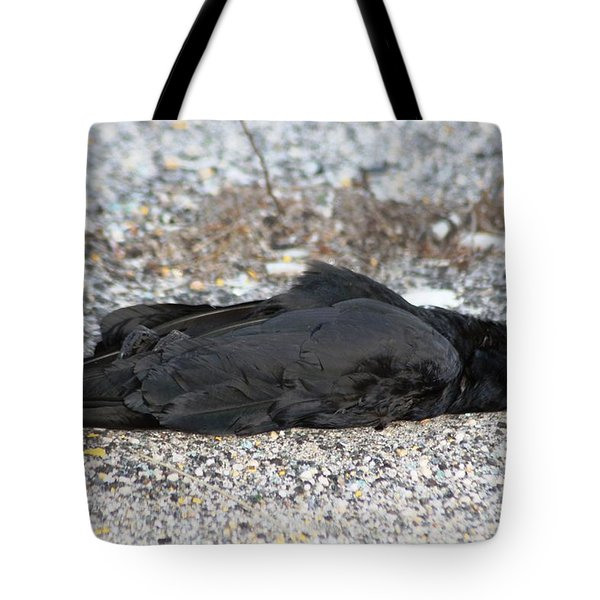 A Birds Eye View Of   The End Tote Bag