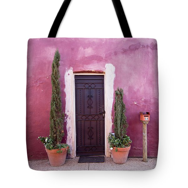 Tote Bag featuring the photograph A Bit Of Brightness Down The Lane by Linda Lees