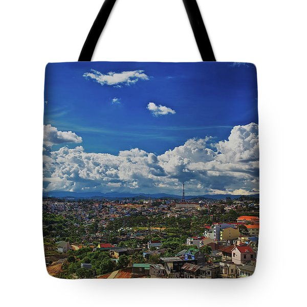Tote Bag featuring the photograph A Bit Of Disneyland In Dalat, Vietnam, Southeast Asia by Sam Antonio Photography