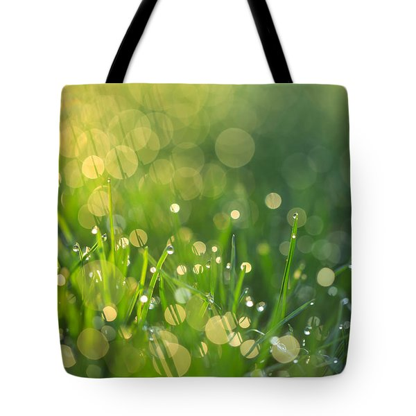 A Bit Of Green Tote Bag