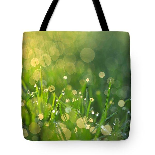 A Bit Of Green Tote Bag