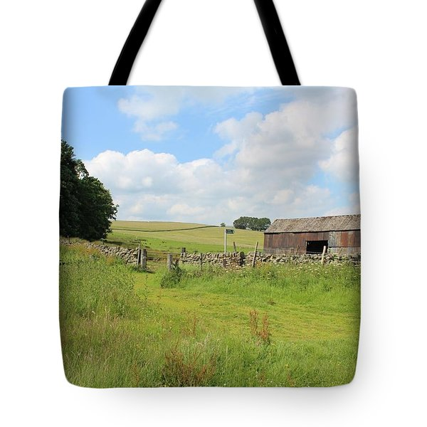 A Bit Ramshackle Tote Bag
