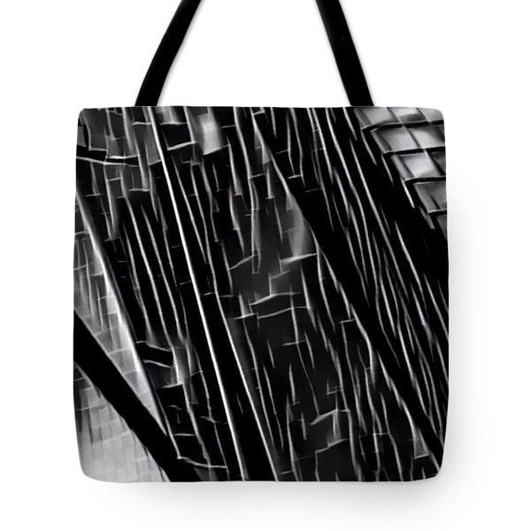 A Black-and-white Cookie Tote Bag