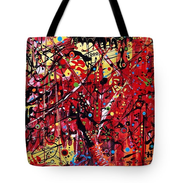 Is A Black Cloud Coming This Way Tote Bag
