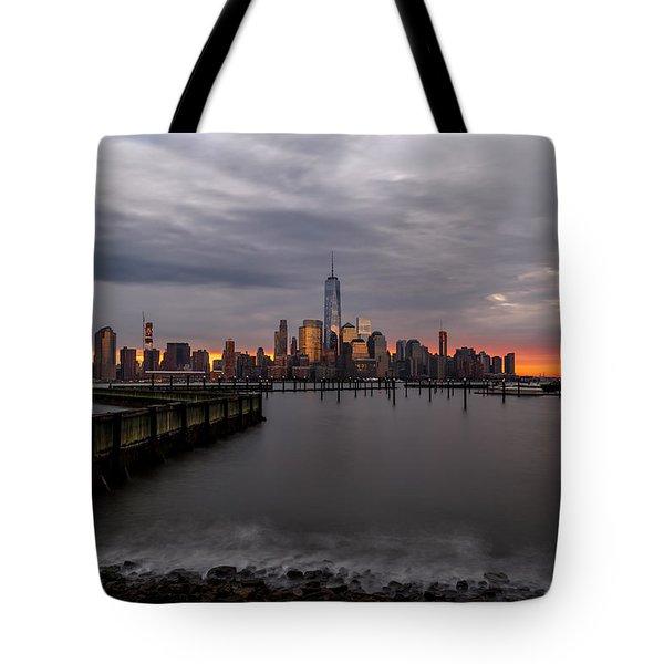 A Blaze Of Glory Tote Bag
