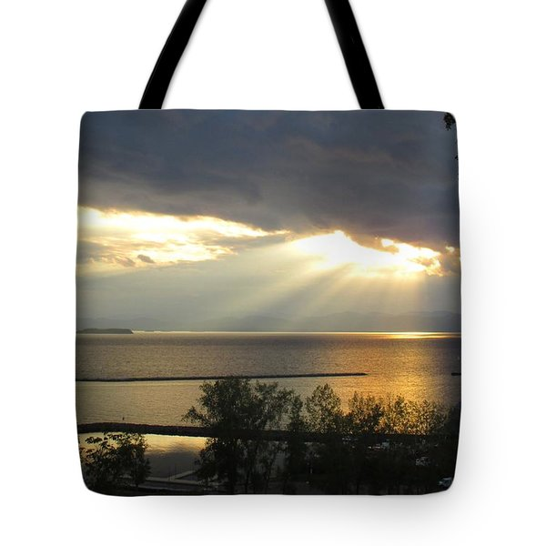 A Blessing Of Light Tote Bag