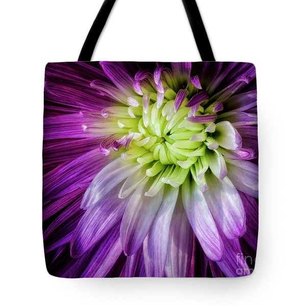 A Bloom's Unfolding Tote Bag by Madonna Martin